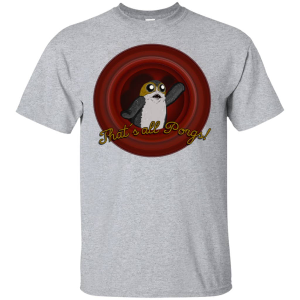 Pop-Up Tee: That`s all Porgs
