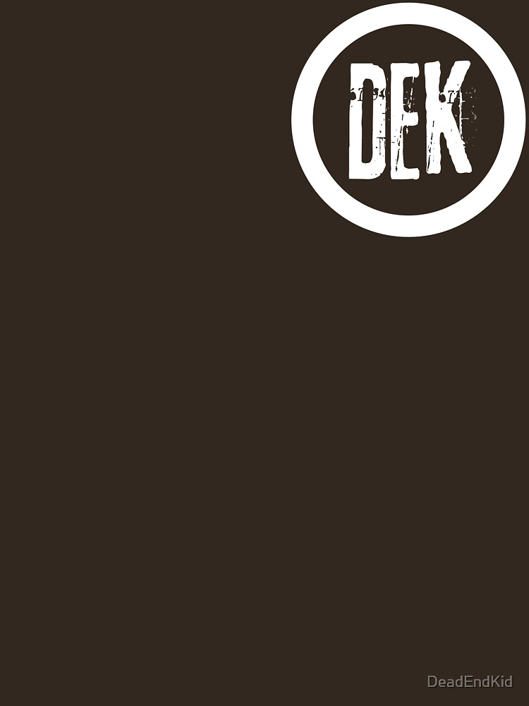 RedBubble: DEK Circle Logo (small)