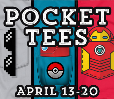 TeeFury: Pocket Tees Collection