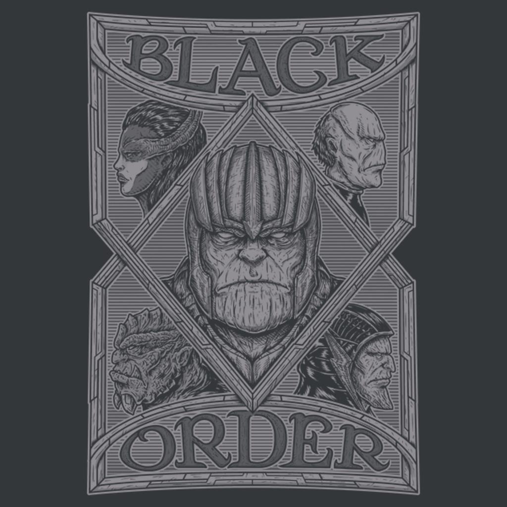 NeatoShop: BLACK ORDER - GRAY