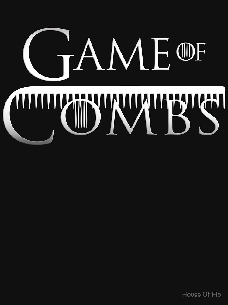 RedBubble: Game Of Combs