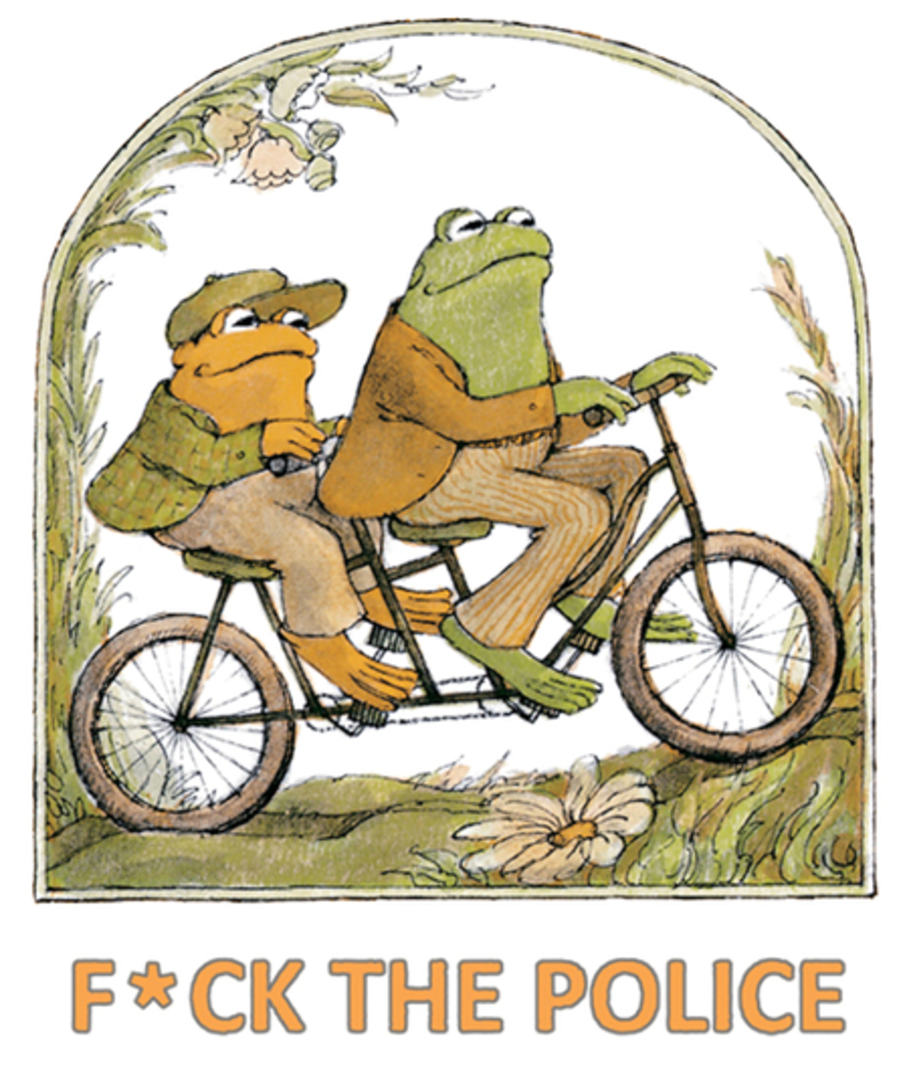 Qwertee: F*ck the Police