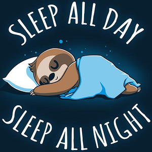 TeeTurtle: Sleep All Day, Sleep All Night