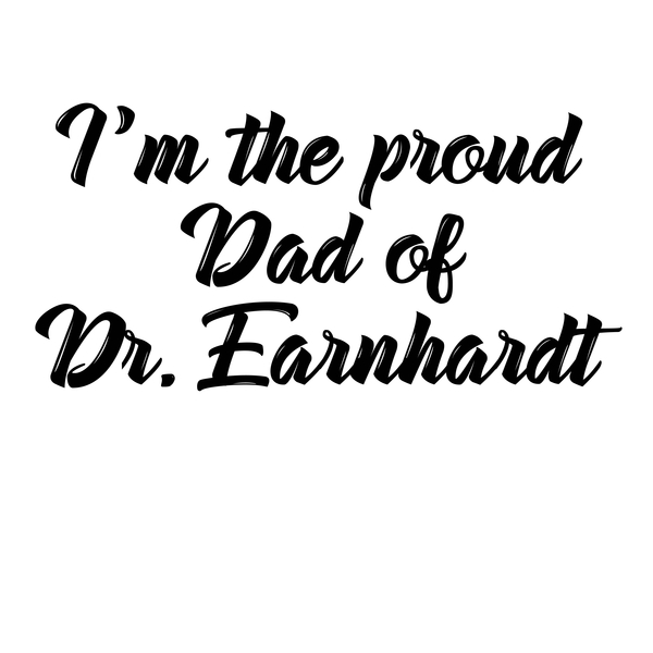 NeatoShop: Personalised Dr. Earnhardt Dad