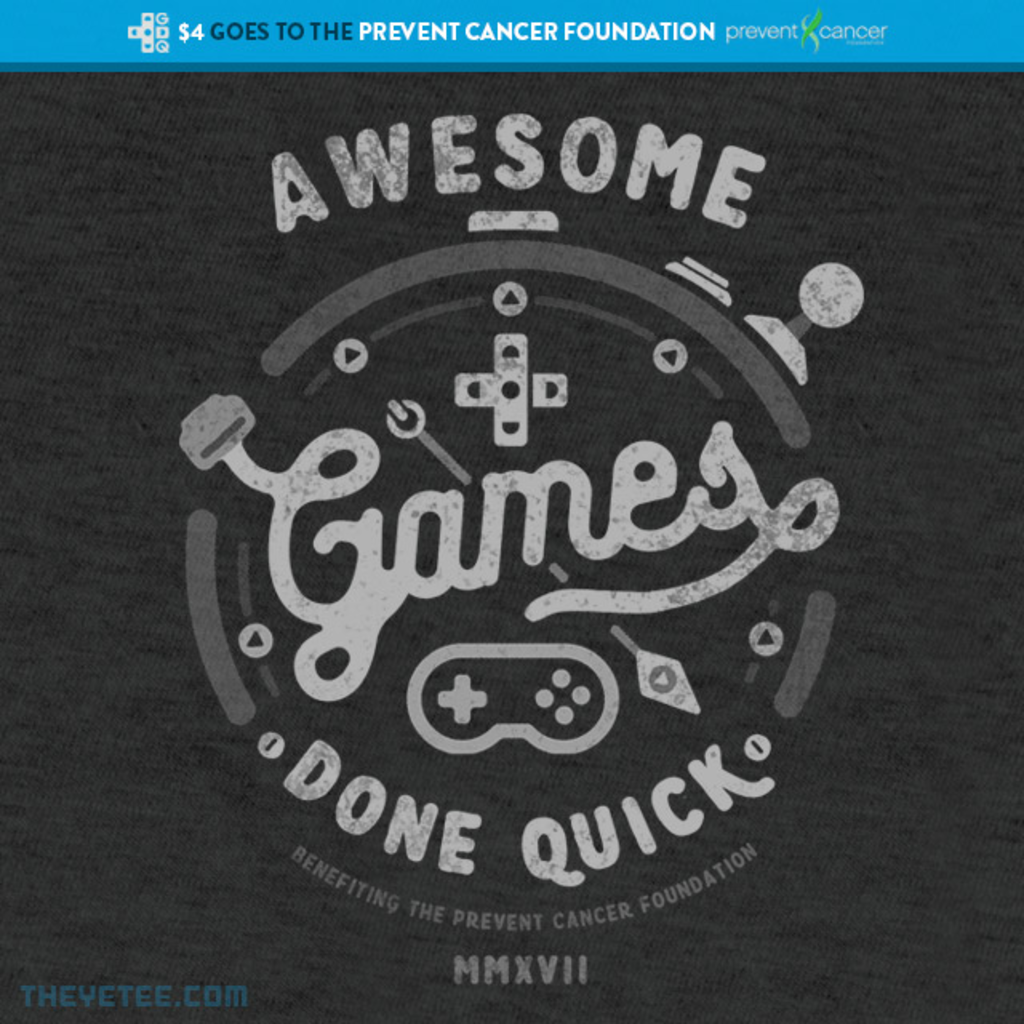 The Yetee: AGDQ 2017