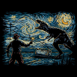 Once Upon a Tee: Jurassic Night