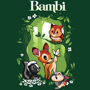TeeTurtle: Disney Bambi