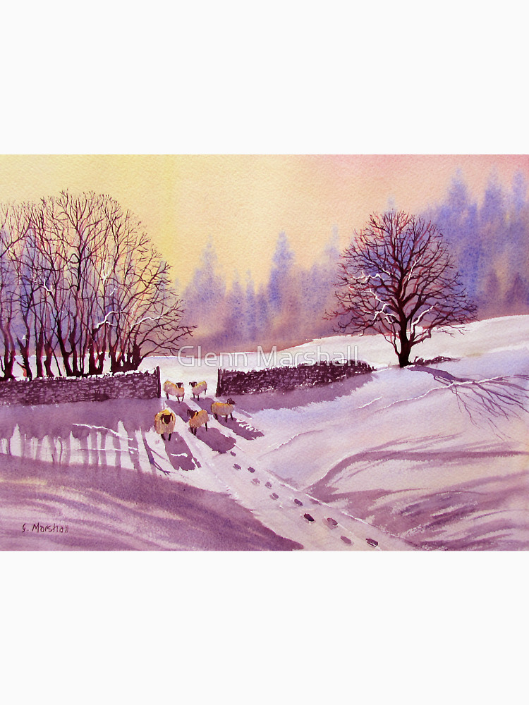 RedBubble: Sheep and Snow
