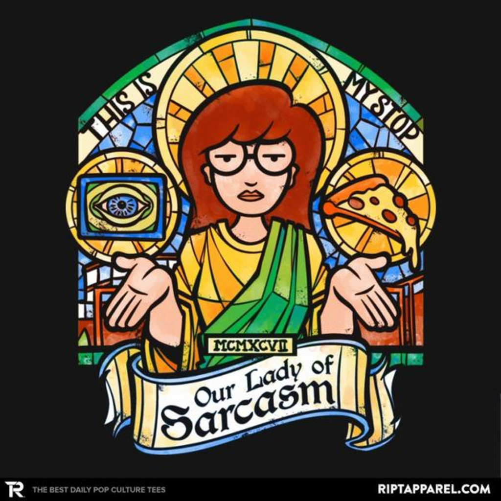 Ript: Our Lady of Sarcasm Reprint