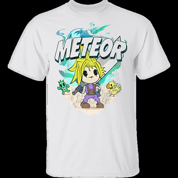 Pop-Up Tee: Meteor Cartoon