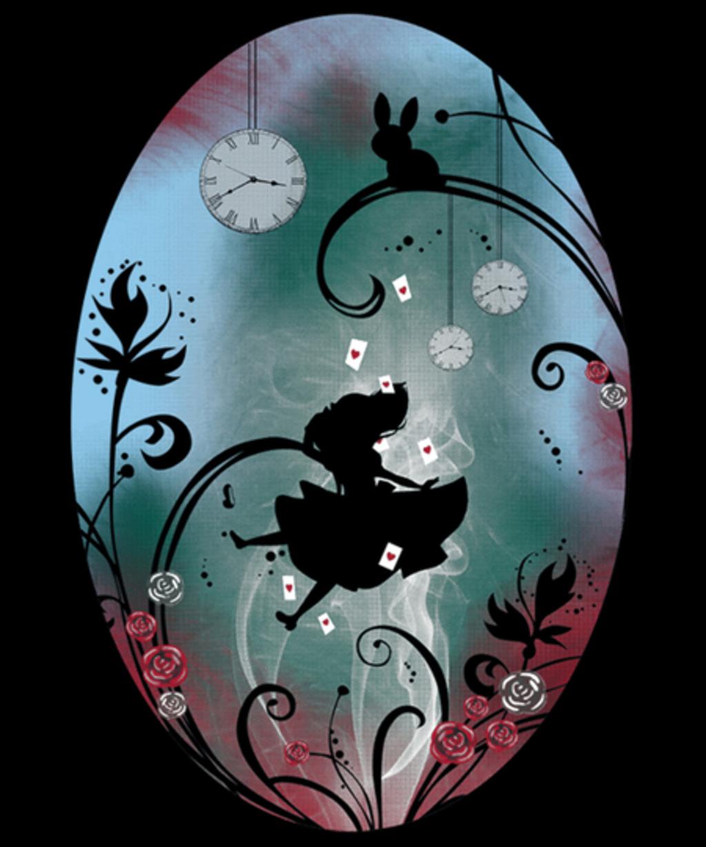 Qwertee: Alice - Rosebush