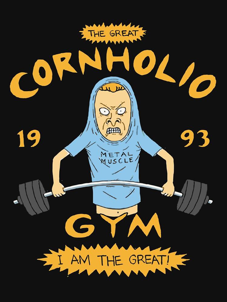 RedBubble: The 1990s TV Cornholio Gym Inspired Rare Artwork