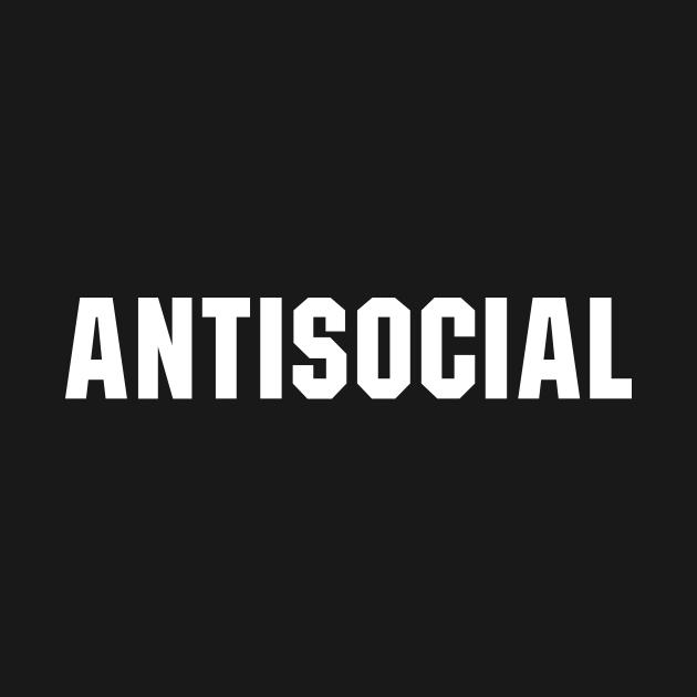 TeePublic: Antisocial
