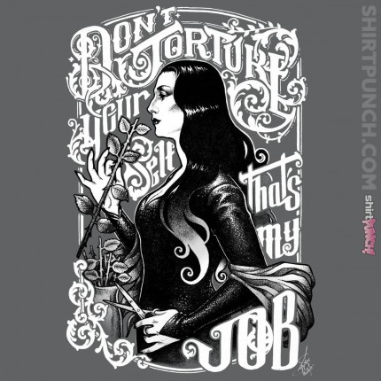 ShirtPunch: Morticia