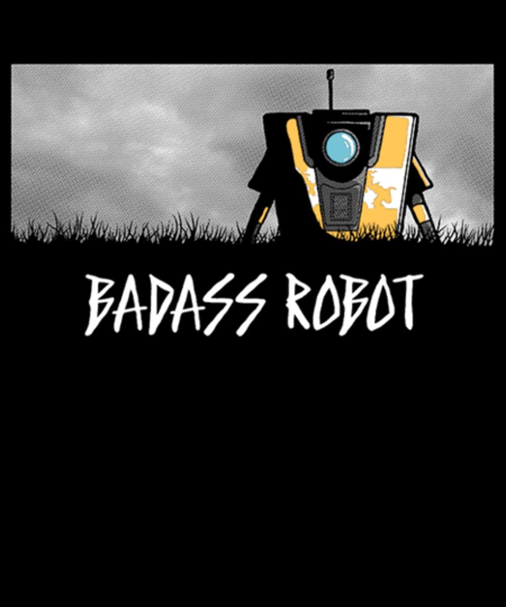 Qwertee: Badass Robot