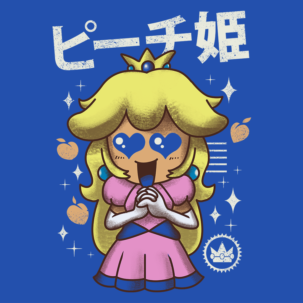 Pop-Up Tee: Kawaii Princess