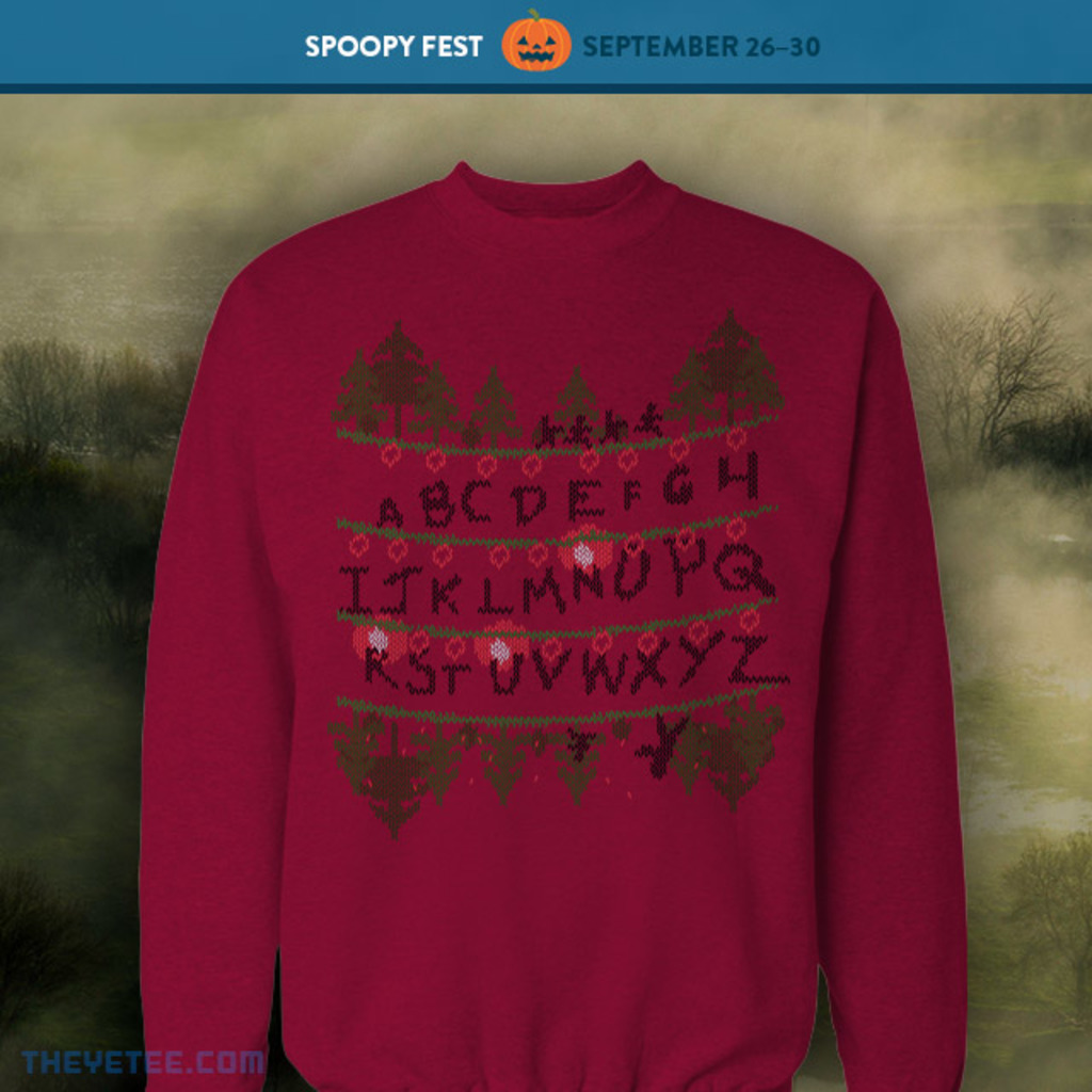 The Yetee: Stranger Holidays