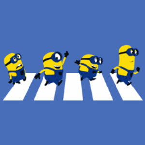 Textual Tees: Minions Abbey Road T-Shirt