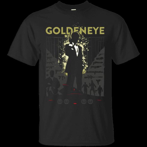 Pop-Up Tee: Goldeneye