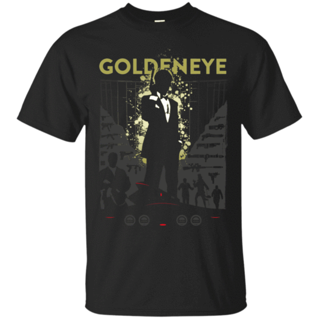 Pop-Up Tee: Goldeneye