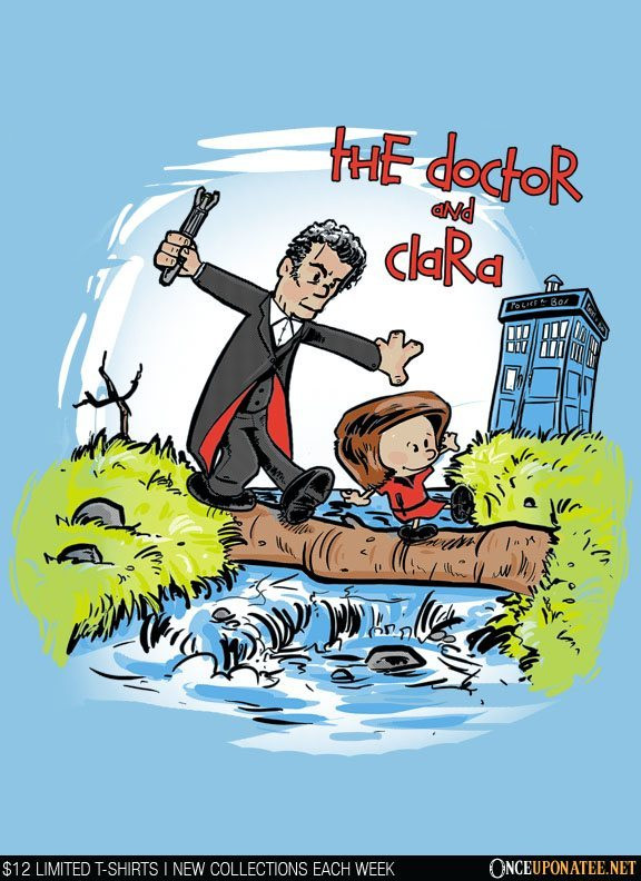 Once Upon a Tee: The Doctor and Clara