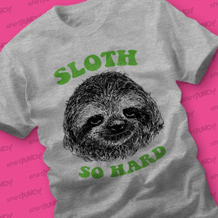 ShirtPunch: Sloth So Hard