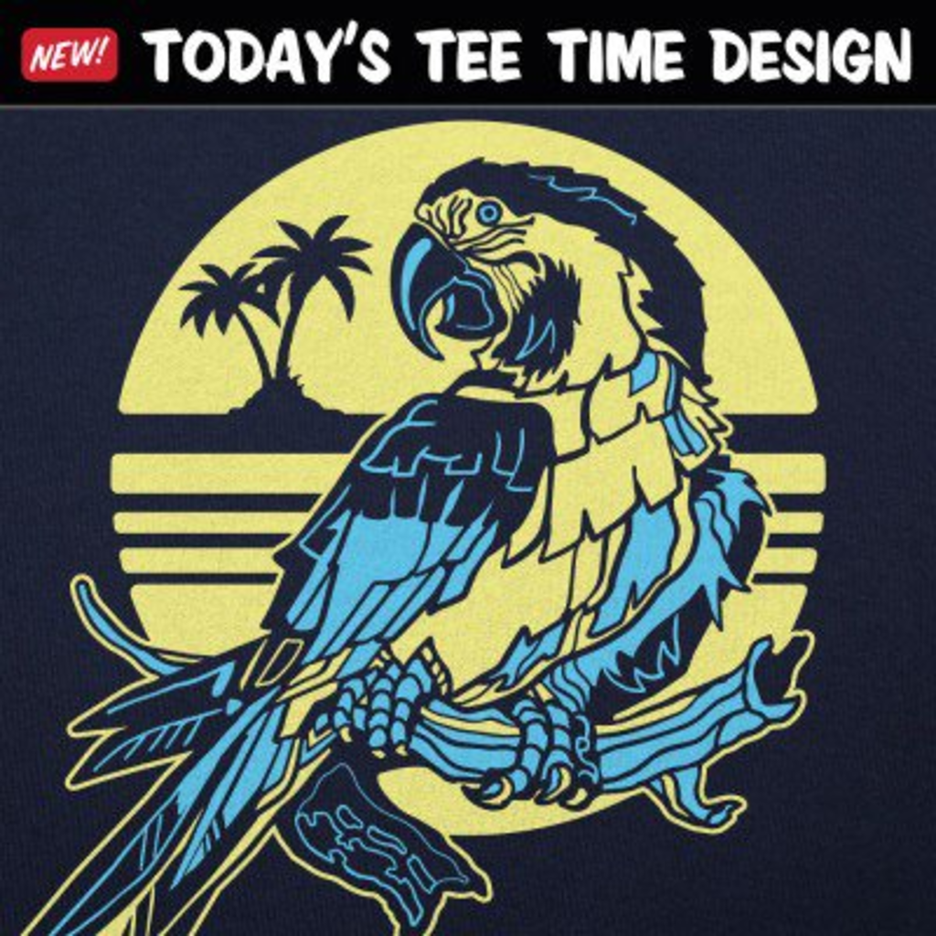 6 Dollar Shirts: Tropical Parrot
