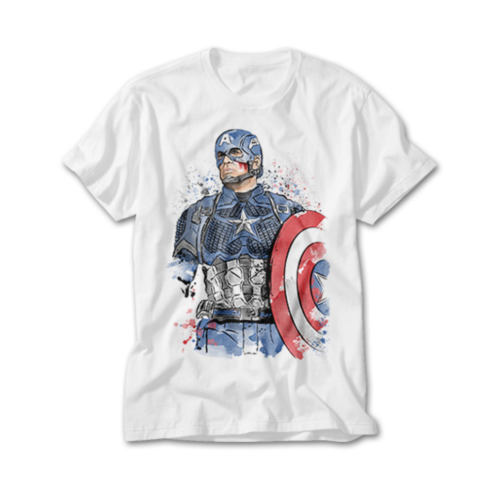 OtherTees: Captain Watercolor