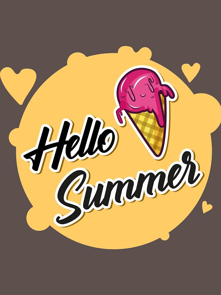 RedBubble: Hello Summer, Hello Summer Shirt