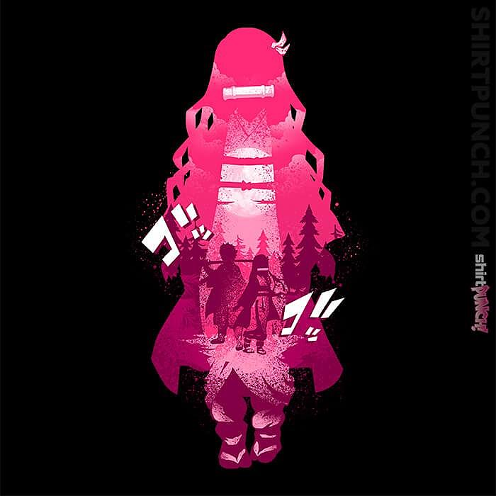ShirtPunch: Nezuko Kamado