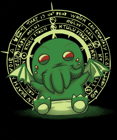 Qwertee: The Littlest Elder God