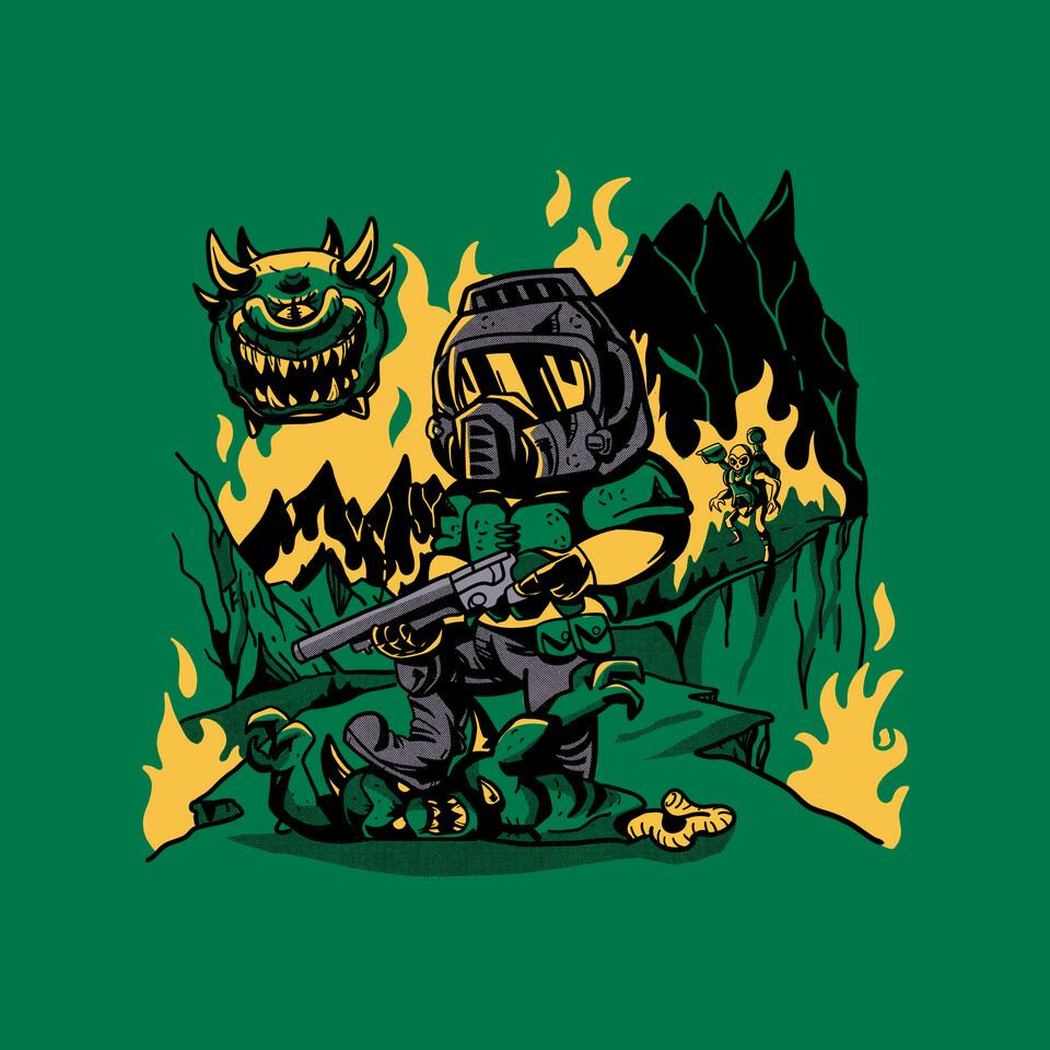 TeeFury: The Shores of Hell