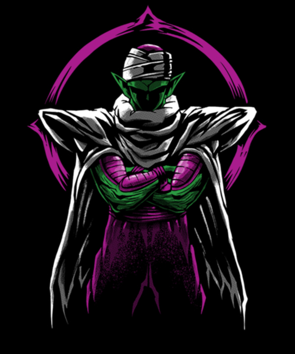 Qwertee: Namek Warrior