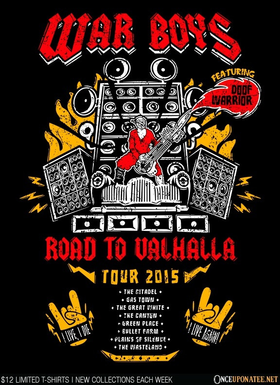 Once Upon a Tee: Road to Valhalla Tour