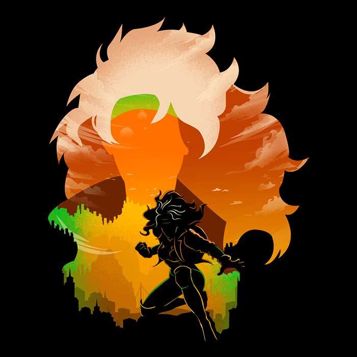 Once Upon a Tee: Raven Landscape