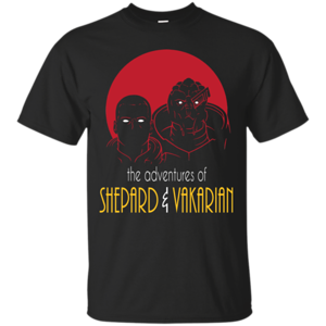 Pop-Up Tee: Adventures of Broshep & Vakarian