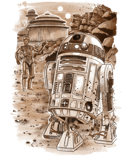 Qwertee: Mission to Jabba's Palace