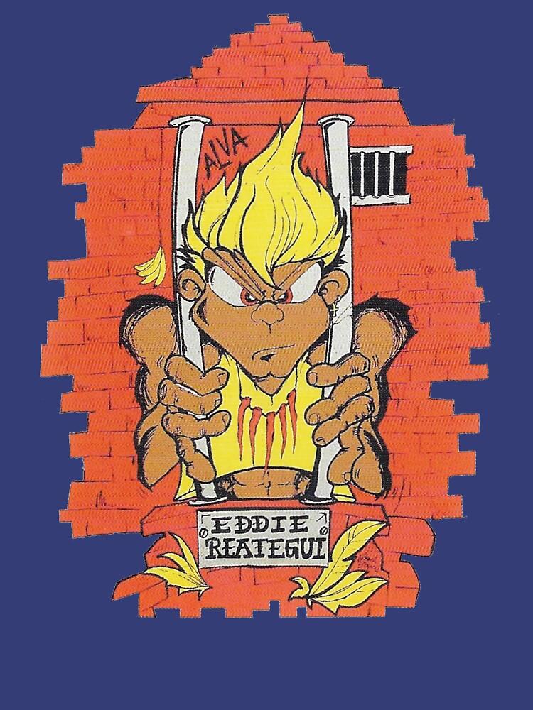 RedBubble: Eddie Reategui, Alva skateboard t shirt design.