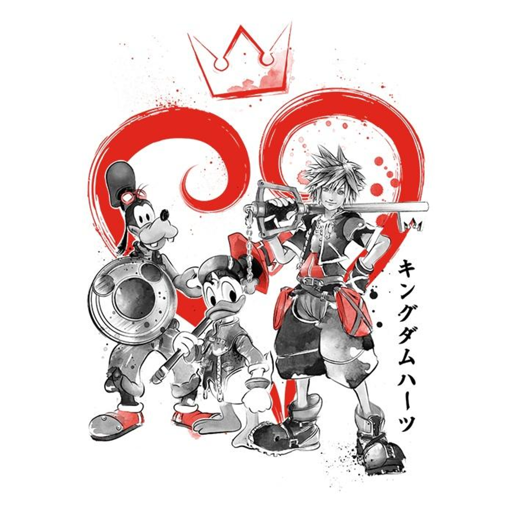 Once Upon a Tee: Kingdom Sumi-e