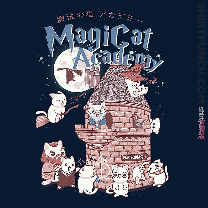 ShirtPunch: Magicat Academy