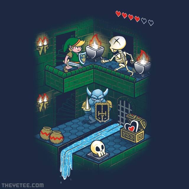 The Yetee: Throught the dungeon