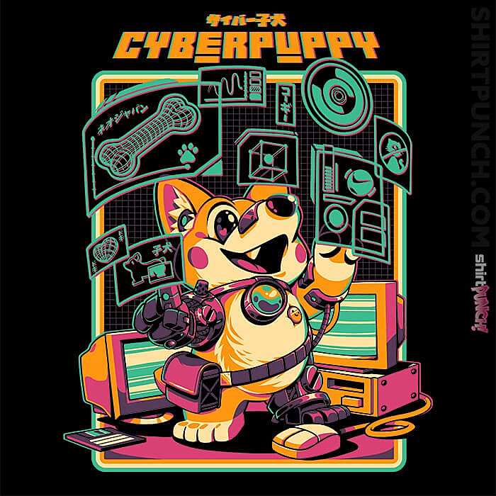 ShirtPunch: Corgypunk