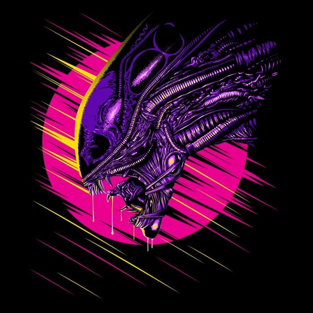 Once Upon a Tee: Psychedelic Alien