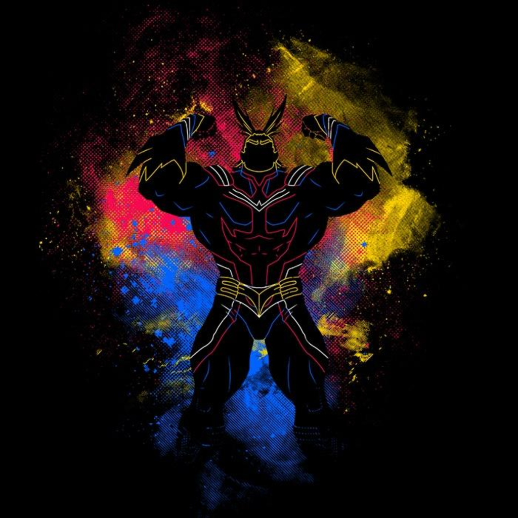 Once Upon a Tee: All Might Art