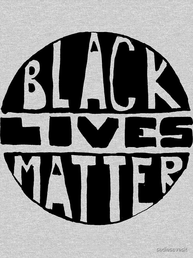 RedBubble: Black Lives Matter - Filled
