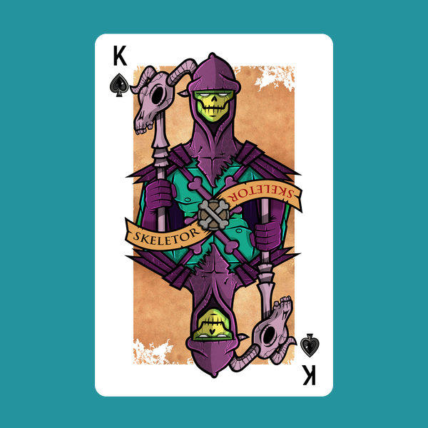 NeatoShop: Villain Playing Card #1