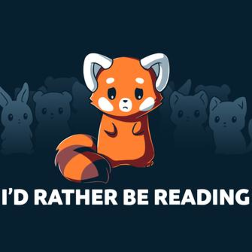 TeeTurtle: I'd Rather Be Reading (Navy)