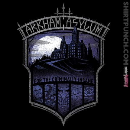 ShirtPunch: Arkham Asylum
