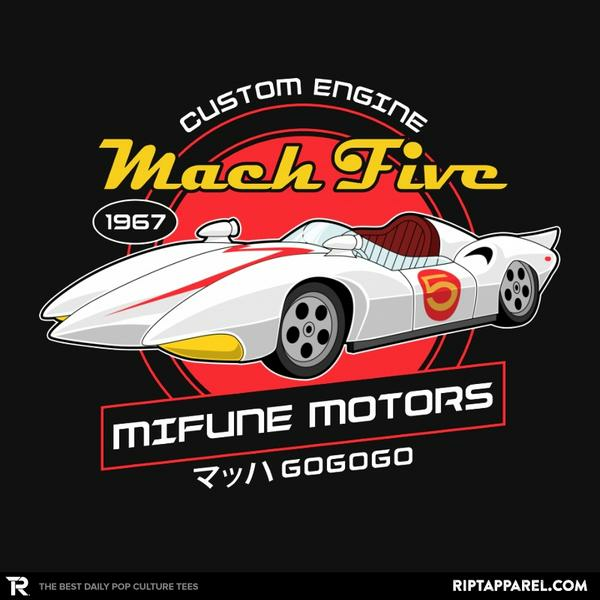 Ript: Mach 5 - Mifune Motors