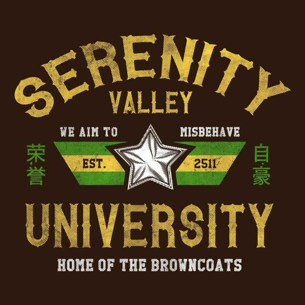 Once Upon a Tee: Serenity Valley University